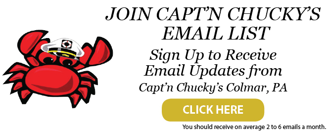 email list for captn chuckys colmar