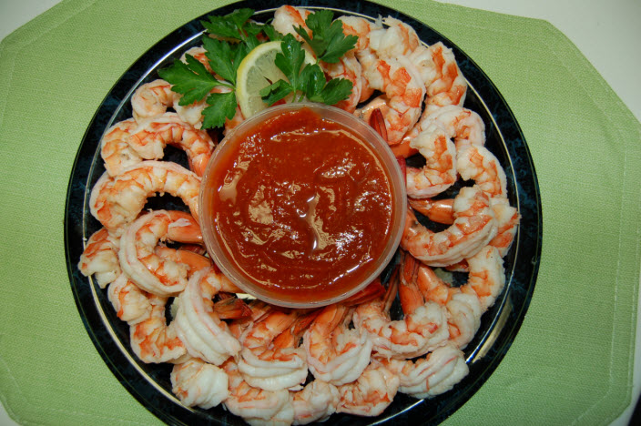 Cake Decorating Solutions Northmead Trading Hours : Steamed Shrimp Party Platter - Capt n Chucky s Crab Cake ...